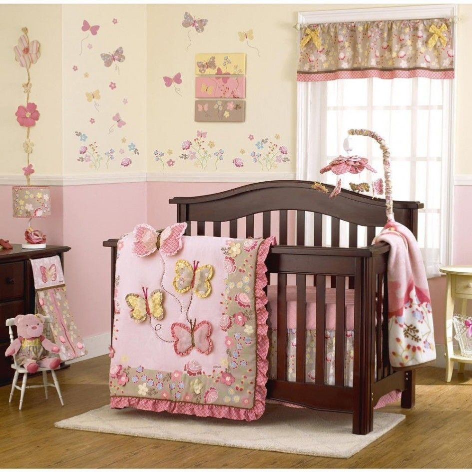 Pin by Evette Mason on Baby Butterfly baby room, Crib