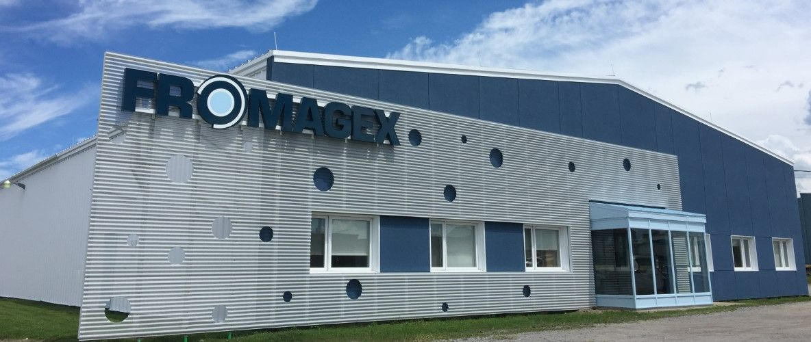Perforated Corrugated Metal Panels Rimouski Quebec Perforation Pattern 1 8 Dia On 3 16 Staggered Centers 40 Architecture Metal Panels Corrugated Metal