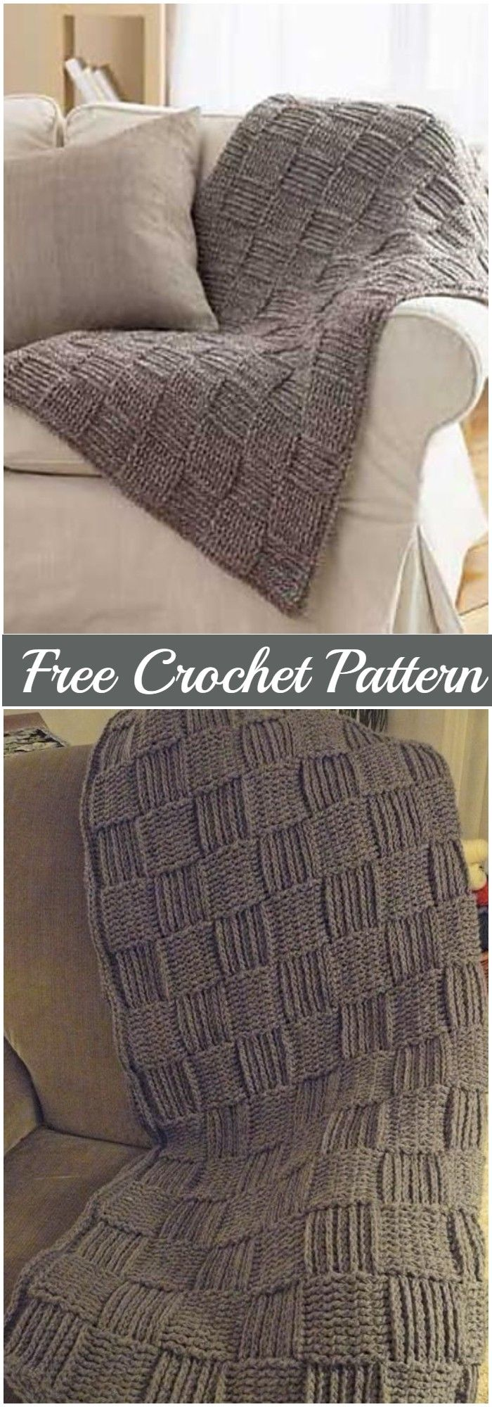Explore this list of best free crochet afghan patterns. They will not only keep you warm in the cold but also give a decorative touch to your room. #freecrochetpatterns#crochetafghanpatterns #afghanpatterns