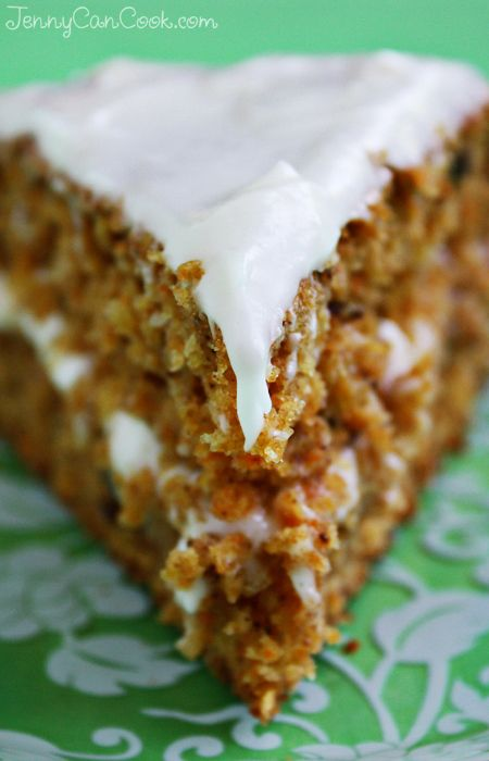 Whole Wheat Carrot Cake Recipe Baking Without Butter