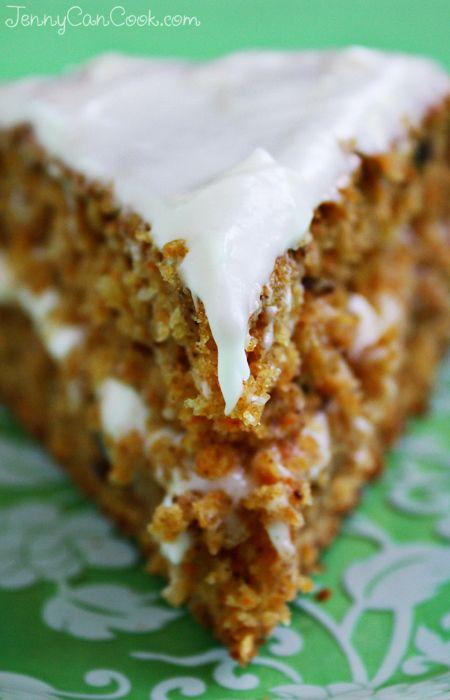 Carrot cake olive oil recipe