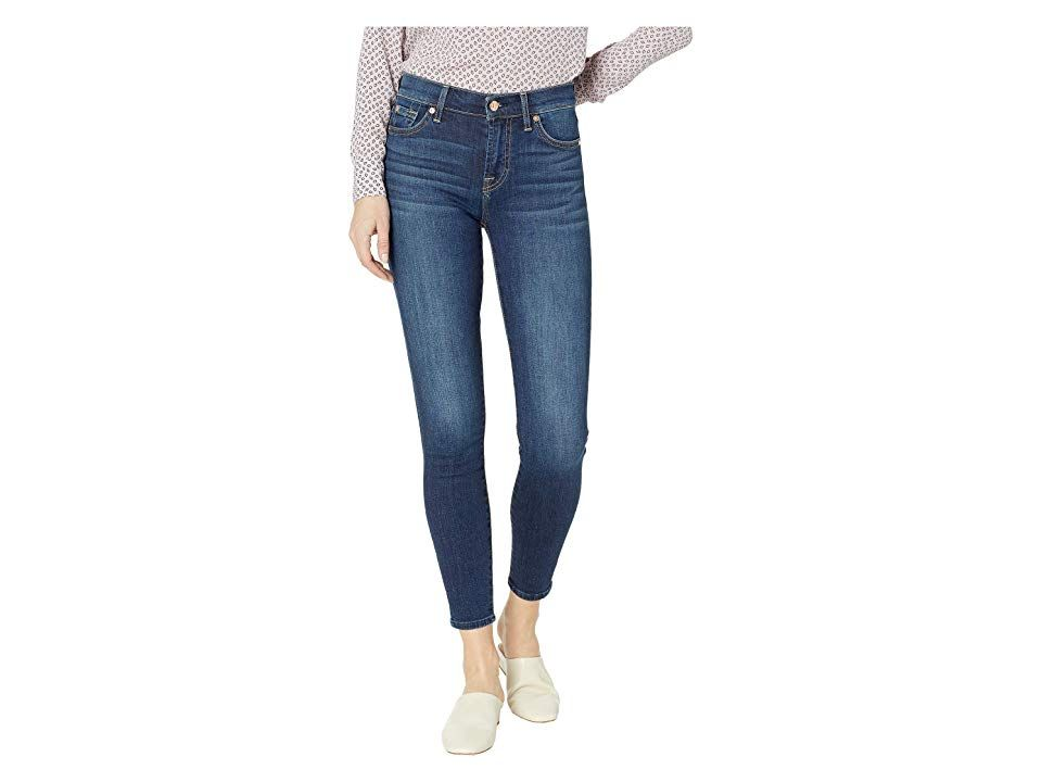 7 For All Mankind B Air Ankle Skinny Jeans In Fate Women S Jeans