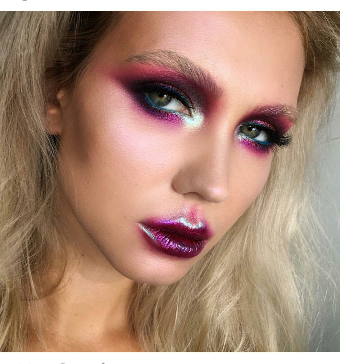 truly outrageous Cool makeup looks, Alternative makeup
