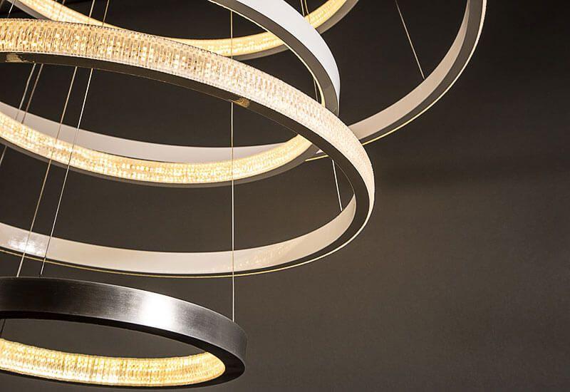 Lampadario Cucina Led : Lampadari design moderno. design moderno acrilico bianco led