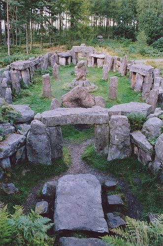 Druid temple North Yorkshire England