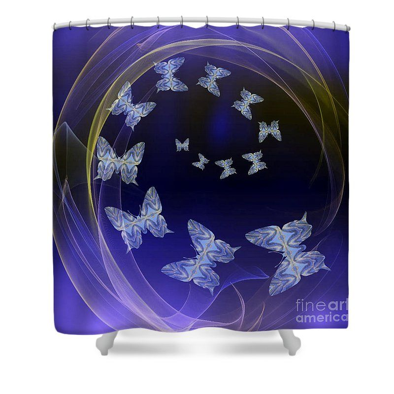 Come Fly With Me Shower Curtain For Sale By Rachel Hannah