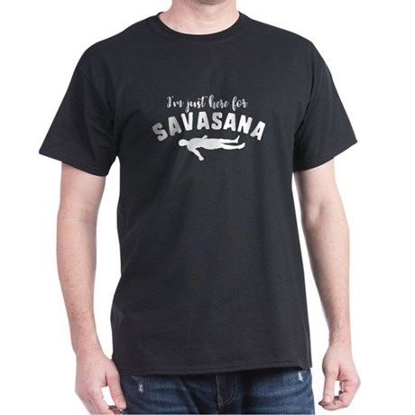savasana hot yoga gift idea tshirt  t shirt mens
