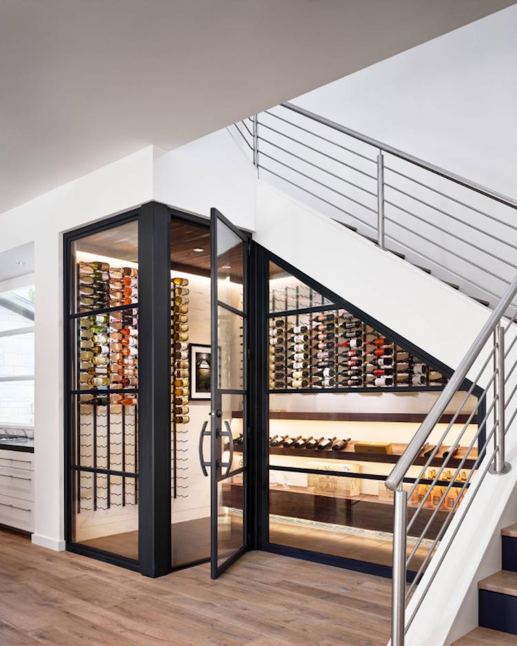 Weinkeller einrichten modern  Weinkeller bauen und modern gestalten - 33 Tipps und ...