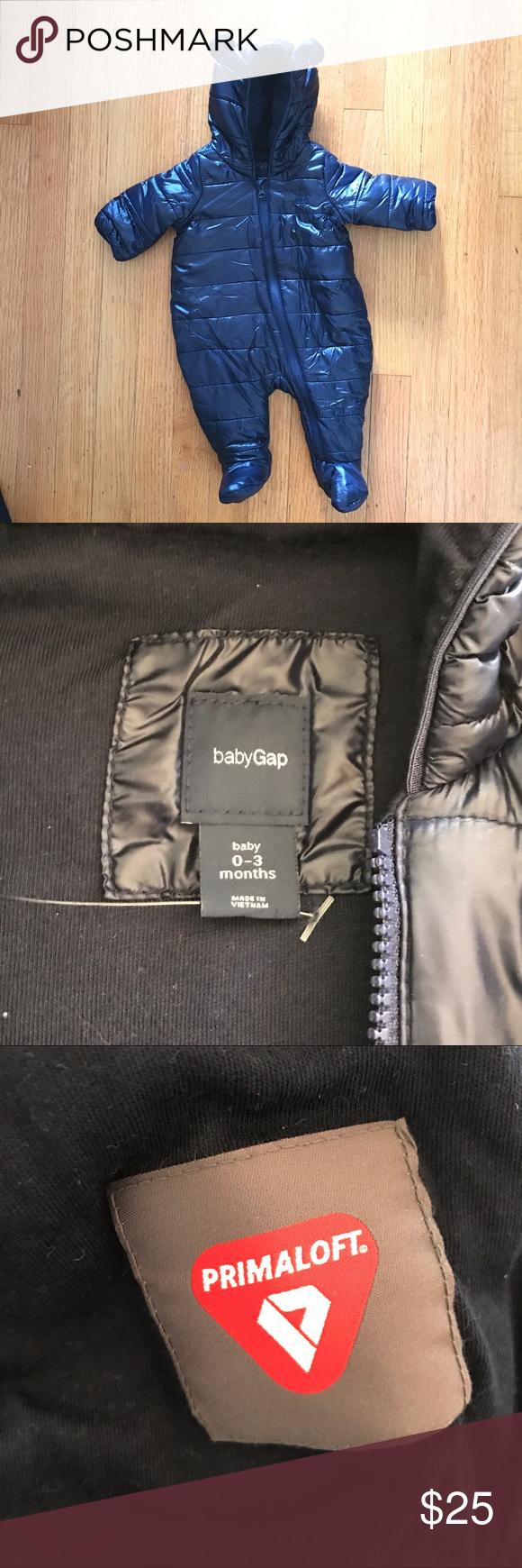 ddd7755e1 Baby Gap Snow Suit w  Primaloft Insulation