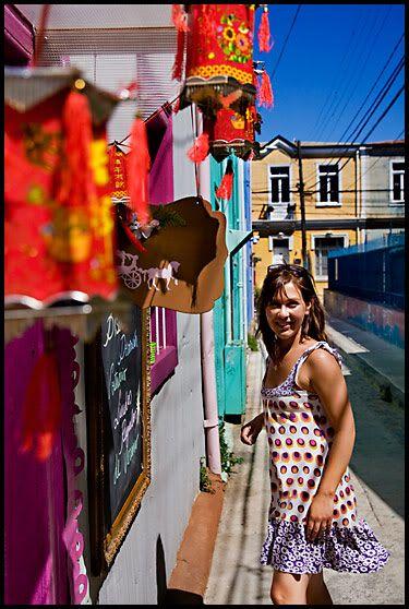 Valparaiso, Chile. ©Linn Bergbrant