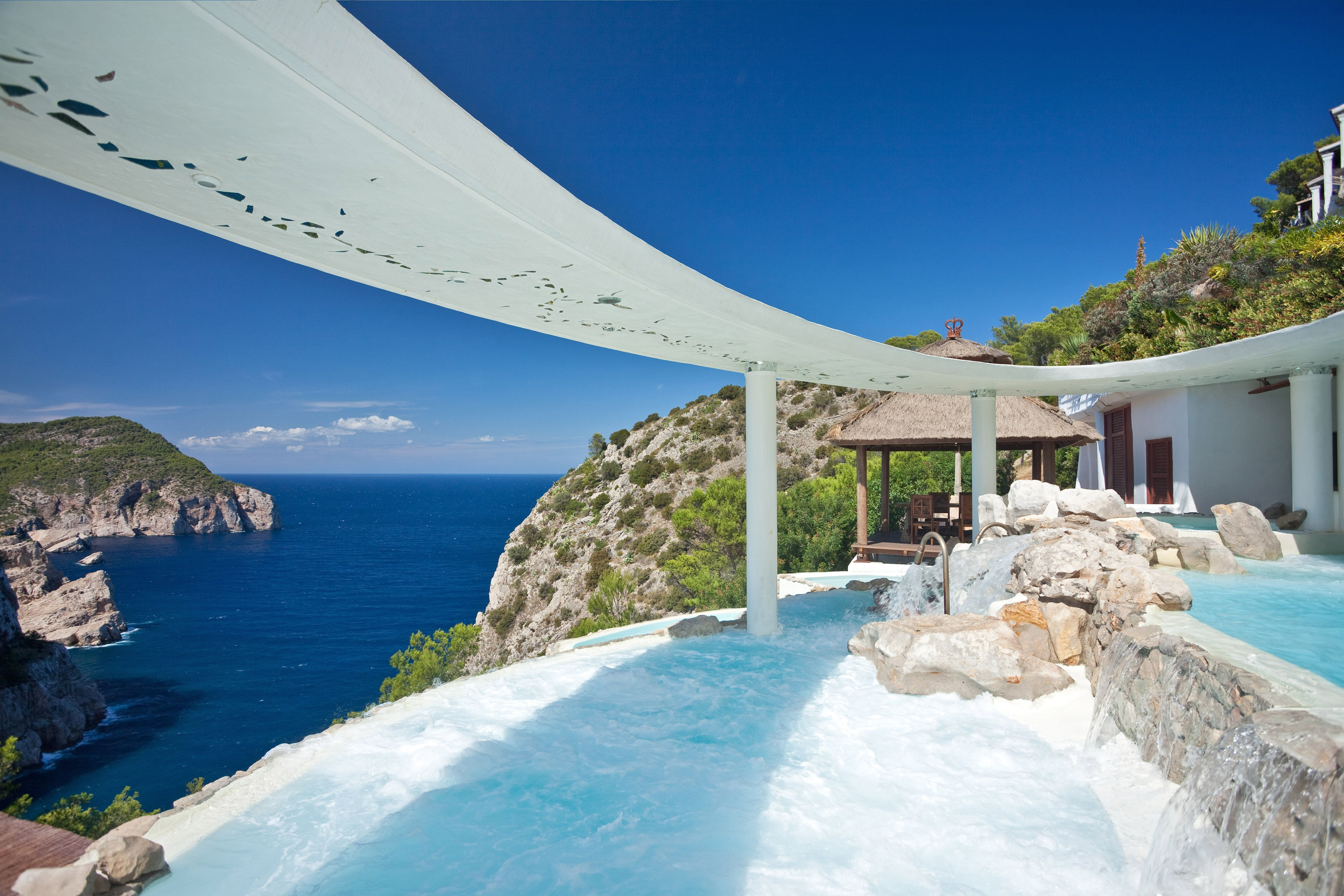 We Re Very Excited To Annouhacienda Na Xamena Hotel In Ibiza Set High On