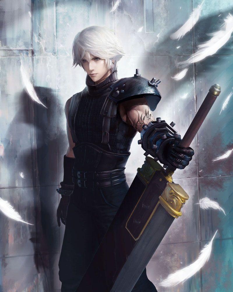 SOLDIER 1st Class (Cloud) Art - Mobius Final Fantasy Art Gallery ...