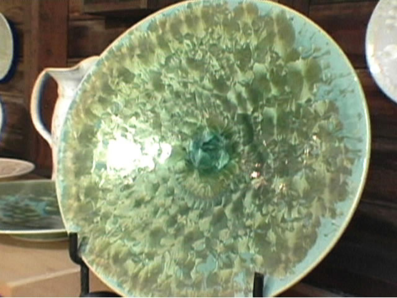 & How to Make an Ornate Ceramic Platter
