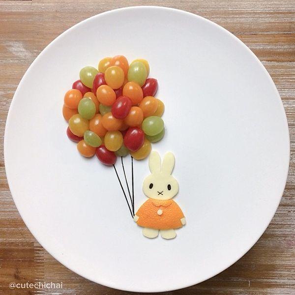 Photo of {Fun Food} les assiettes créatives de Cute Chichai – Créamalice