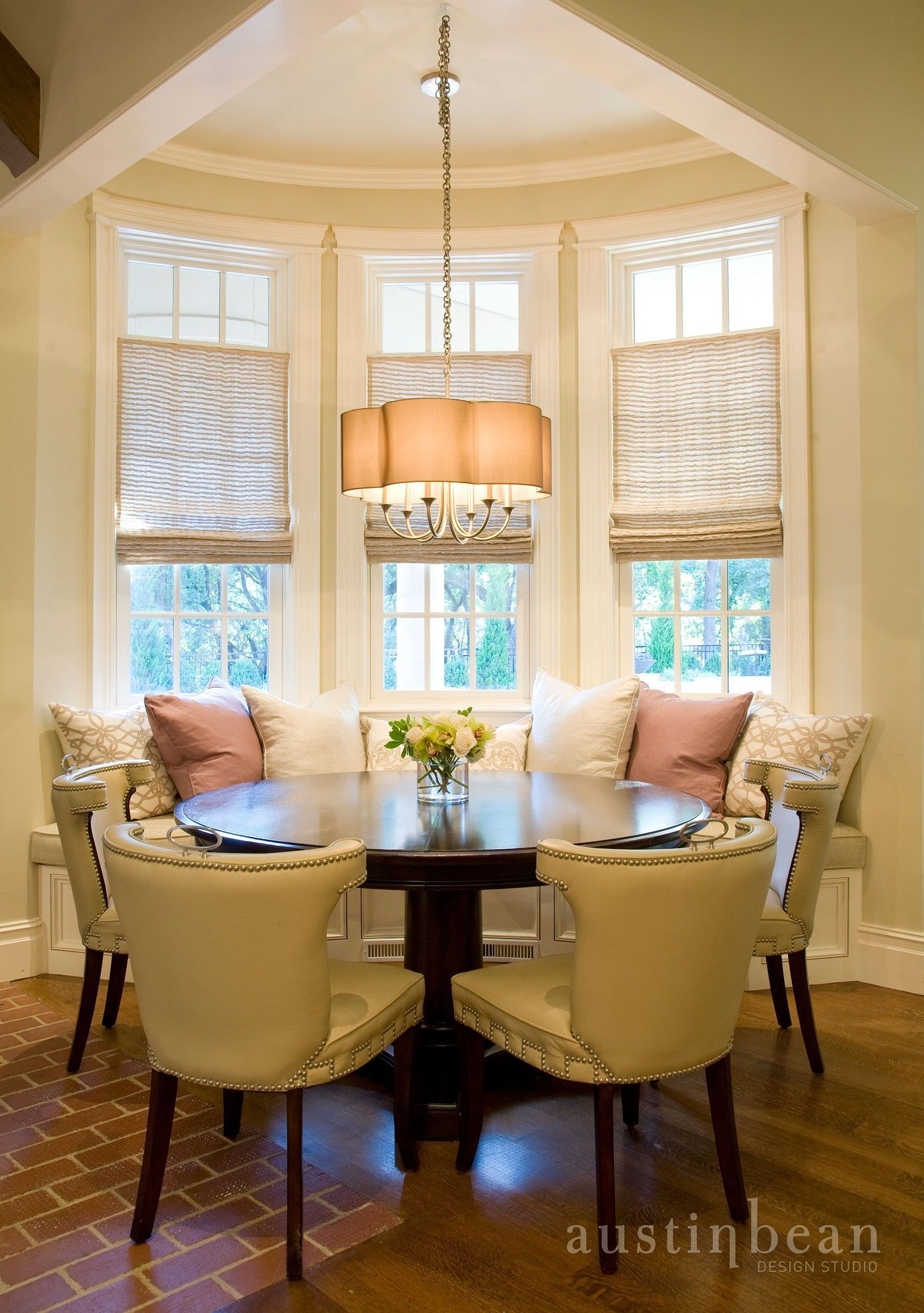 Kitchen Nook Curtains Tables Set Breakfast Traditional Images By Austin