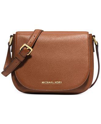 MICHAEL Michael Kors Bedford Medium Flap Messenger - All Handbags - Handbags & Accessories - Macy's