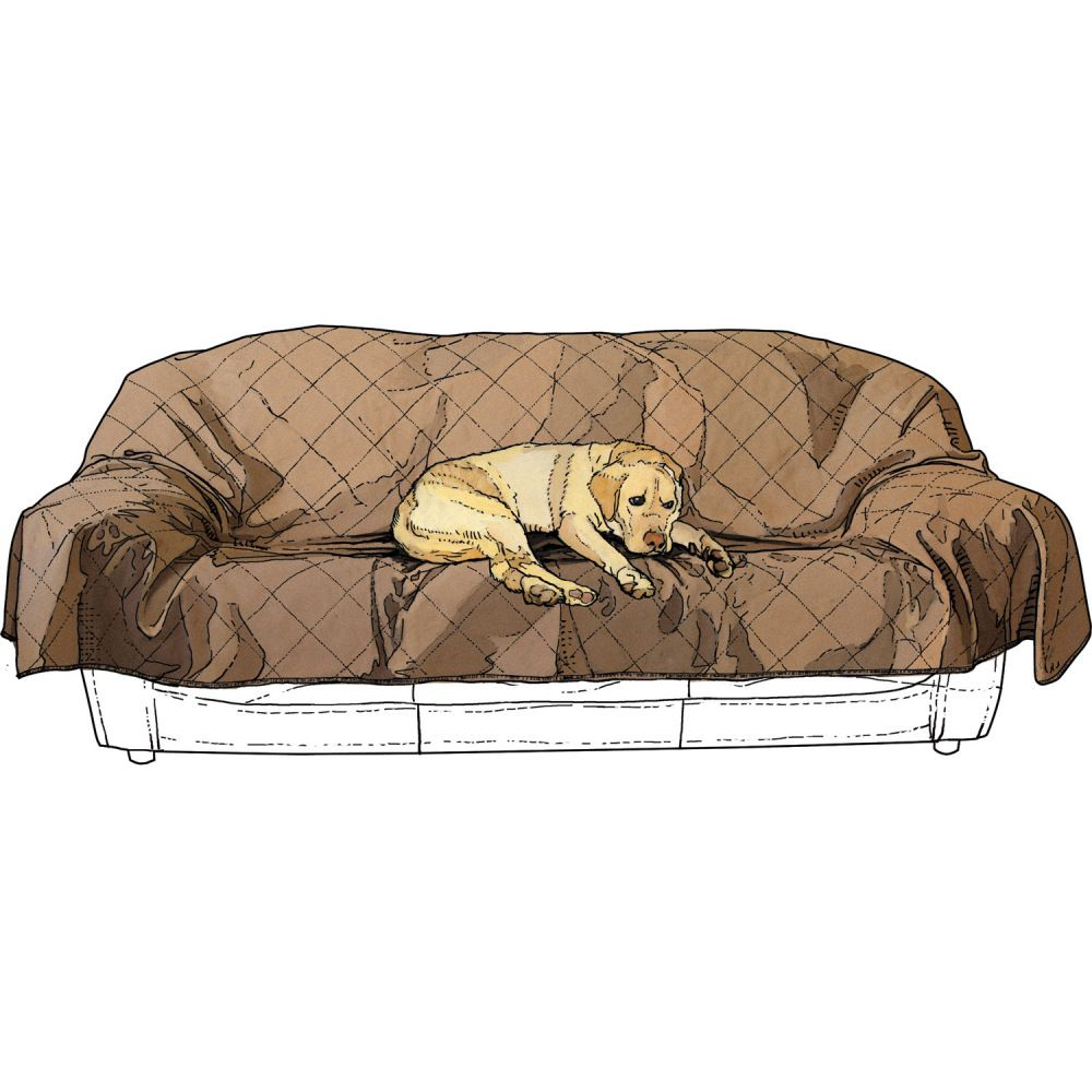 Lovely Water And Stain Resistant Fire Hose Furniture Saver Protects Your Couch.  Protects Against Kids, Dogs, Sloppy Joes Served While Watching The Big Game.