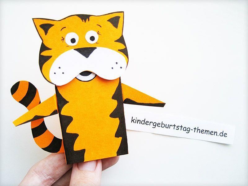 Originelle Bastelidee für die Kinder – Zootiere aus Papier