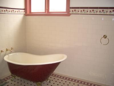 Lovely bath, and federation style tiles. | House Hopes | Pinterest ...