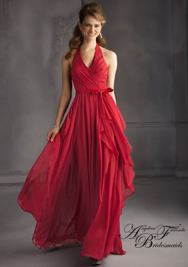 Again In The Picture Taffeta Bridesmaid Dress From Angelina Faccenda Bridesmaids By Mori Lee Style 20432 Luxe Chiffon