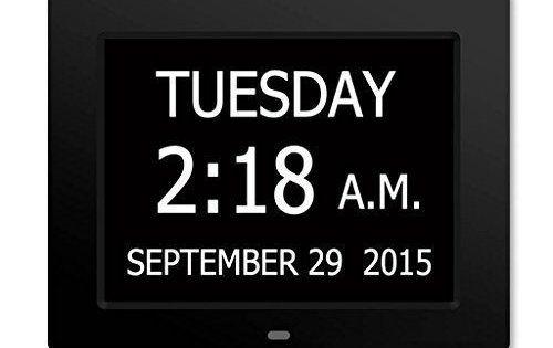 The Original Memory Loss Digital Calendar Day Clock With Extra