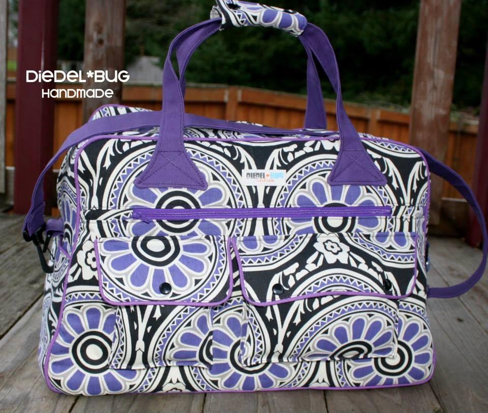 Stella Weekender - Swoon Sewing Patterns | Bags | Pinterest