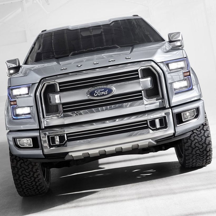 Ford Atlas Concept A Preview Of The 2015my Ford F 150 I Know Not
