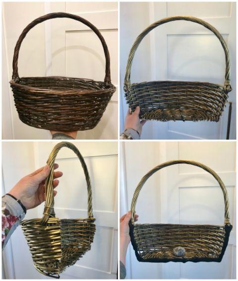 Photo of Dollar Store Spring Easter Basket Wreath | FYNES DESIGNS