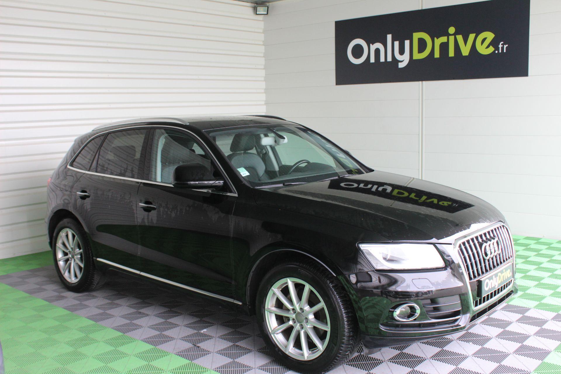 Audi Q5 2 0 Tdi 190 Avus S Tronic Suv Diesel Noir 2016 Garage