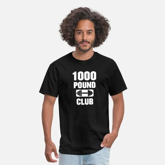 Photo of 1000 Pound Club Gym Powerlifting Men's T-Shirt | Spreadshirt