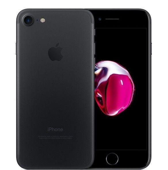 Apple iPhone 7 32GB Black (GSM Unlocked) 7/10 Condition