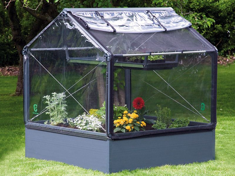As a raised bed garden, the GrowCamp offers complete soil
