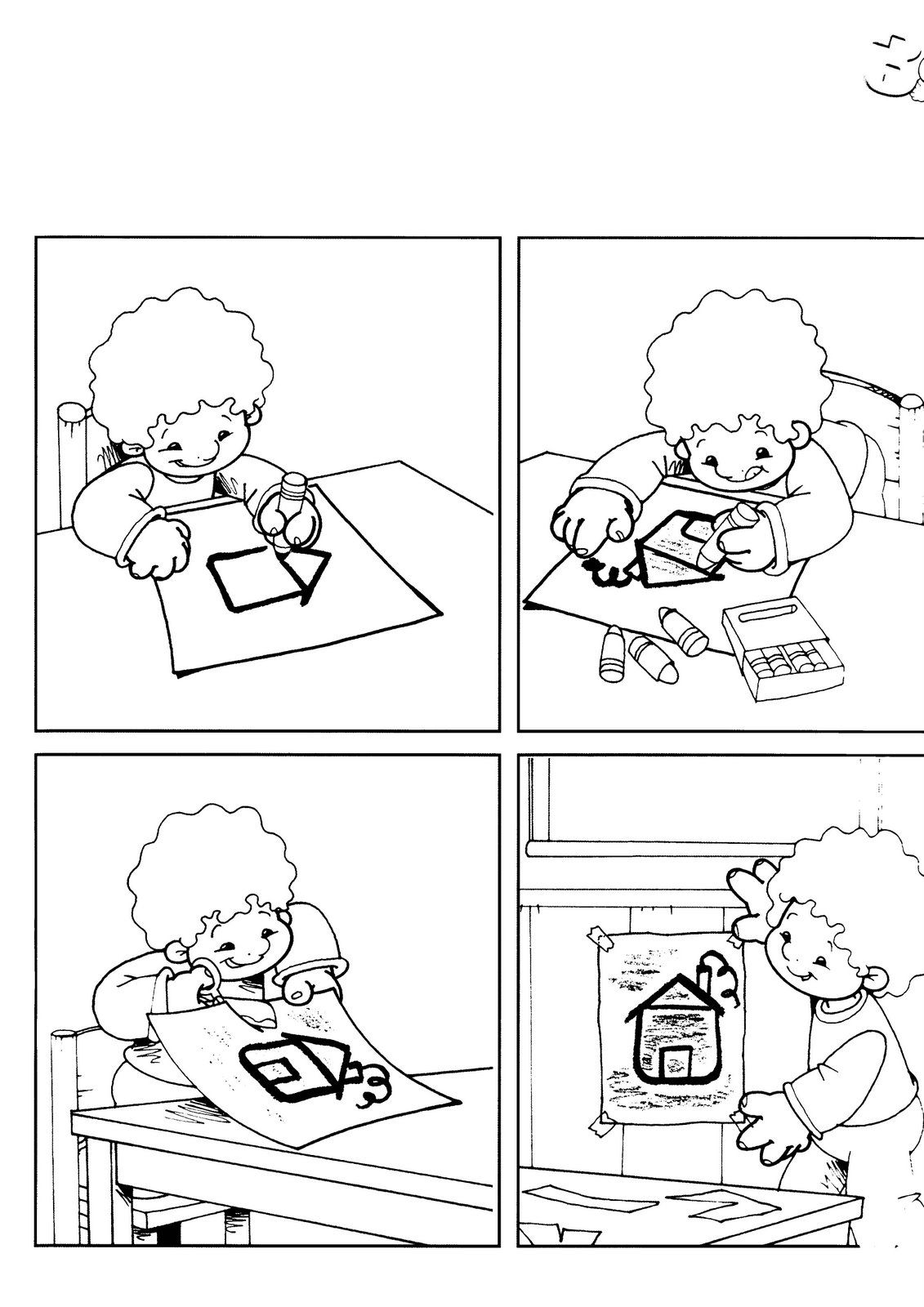 Foto: dibujo | alfabetização | Pinterest | Bildgeschichten ...