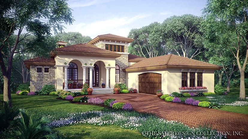 Mediterranean Style Modular Homes Style House Plan Mediterranean Style  Prefab Homes Design