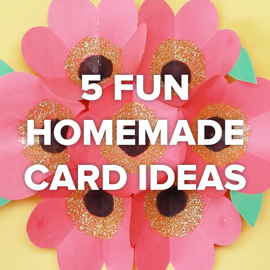 5 fun homemade card ideas creative diy gift craft card ホーム