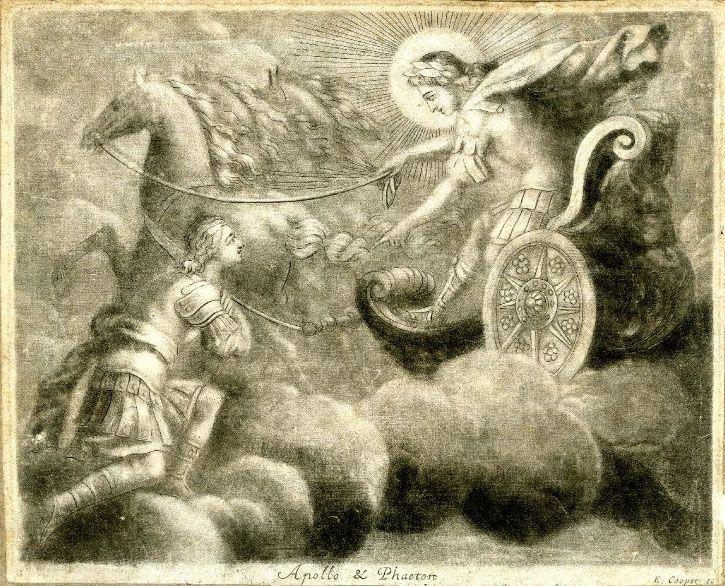 Phaethon Son... Helios Chariot Drawing
