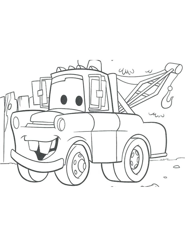 Disney Cars Coloring Pages Pdf. Cars Is An Animated Movie Dedicated For  Child… Cars Coloring Pages, Free Disney Coloring Pages, Halloween Coloring  Pages Printable