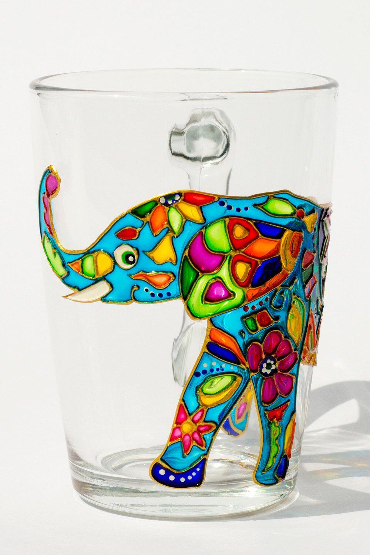 Elefant Becher indischen Elefanten, Kaffeetasse, böhmische Geschenk für sie, personalisierte Tasse von Vitraaze auf Etsy https://www.etsy.com/de/listing/230160030/elefant-becher-indischen-elefanten