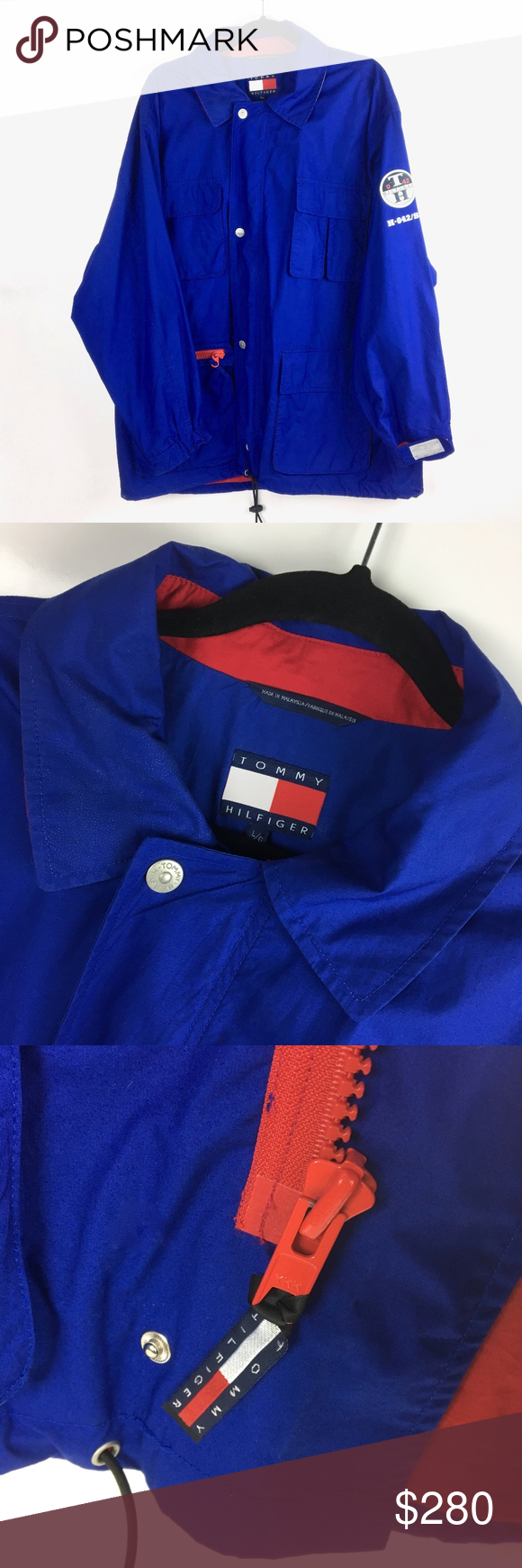 Tommy Hilfiger > 90's Star Class Sailing Jacket (With