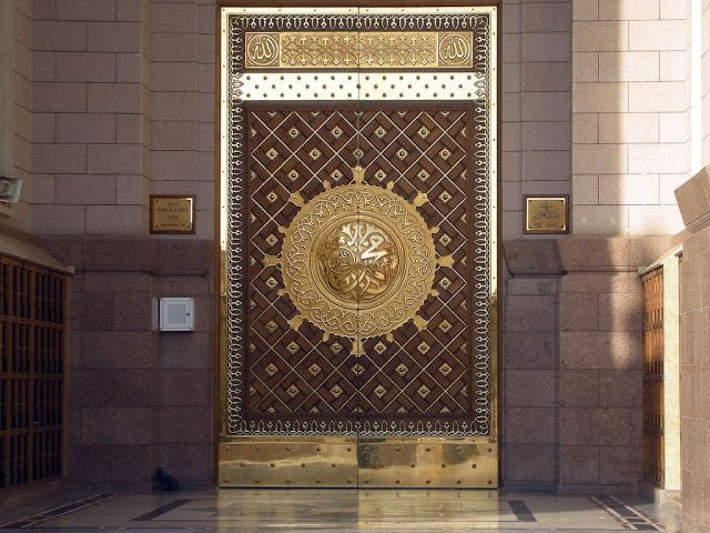 Masjid Al Nabawi in #Madinah - Saudi Arabia (door) & Masjid Al Nabawi in #Madinah - Saudi Arabia (door) | Daily Post ...