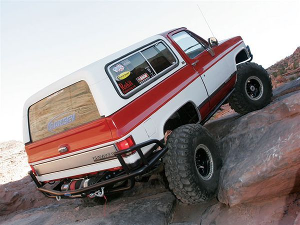 1990 Chevy K5 Blazer In Control Photo Image Gallery K5