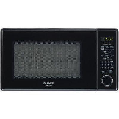 Sharp 1 3 Cu Ft 1000w Countertop Microwave Color Black