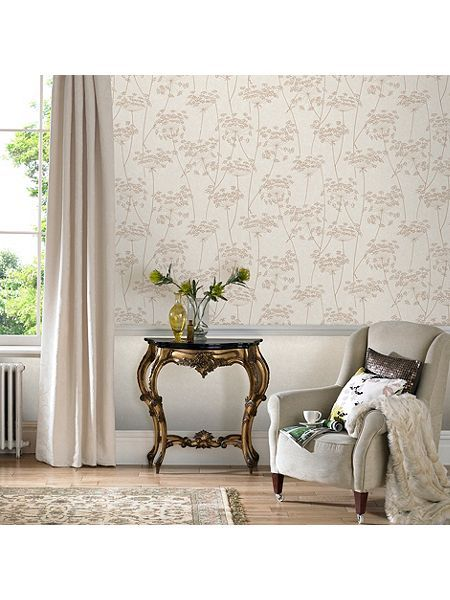 Graham Brown Aura Wallpaper In Natural From House Of Fraser Wallpaper Living Room Home Decor Neutral Wallpaper