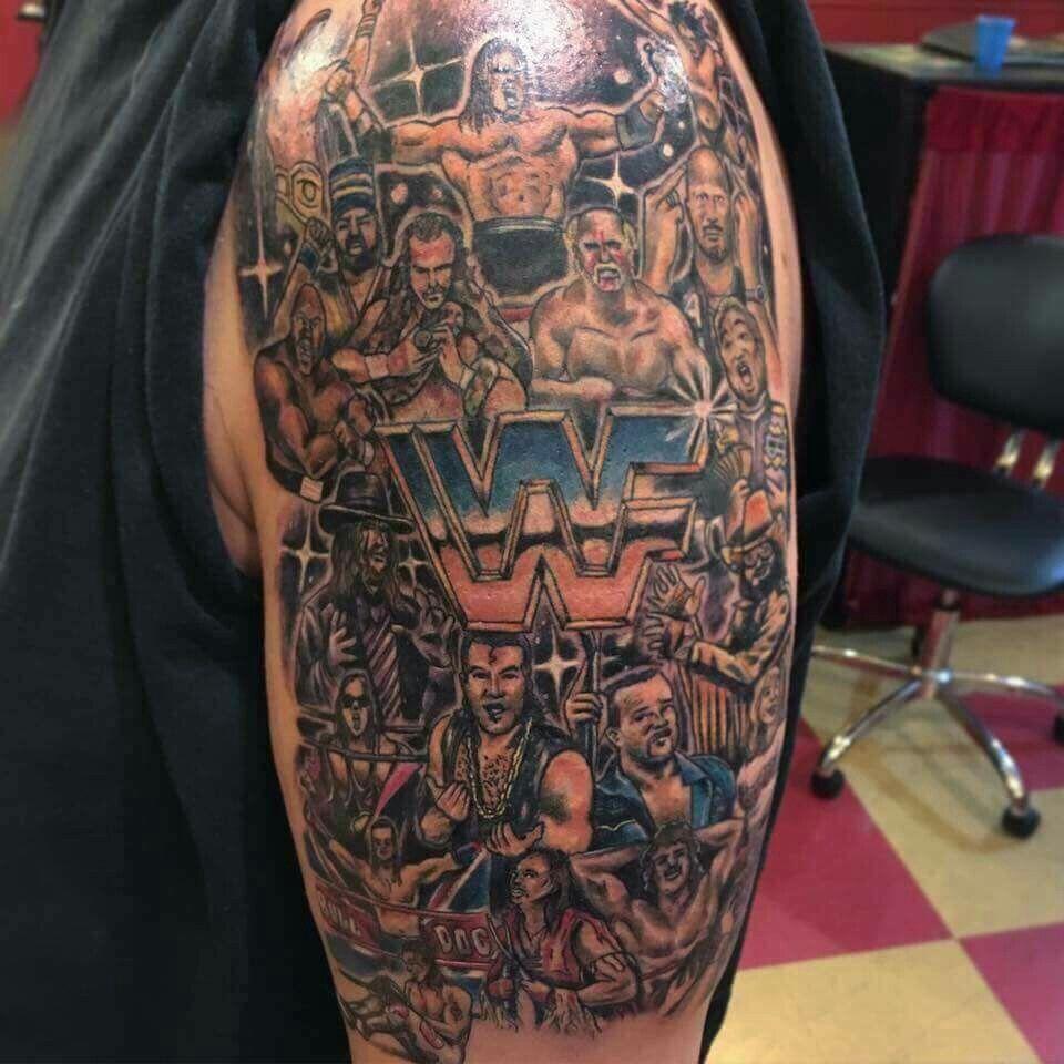 Wwf Wrestlers Tattoo Pinterest Tattoos Cool And Inkstarhalotattoomachinediagrams