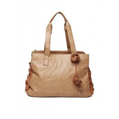 Handbags Baggit Tan Oversized Handbag Online In India Dealtz