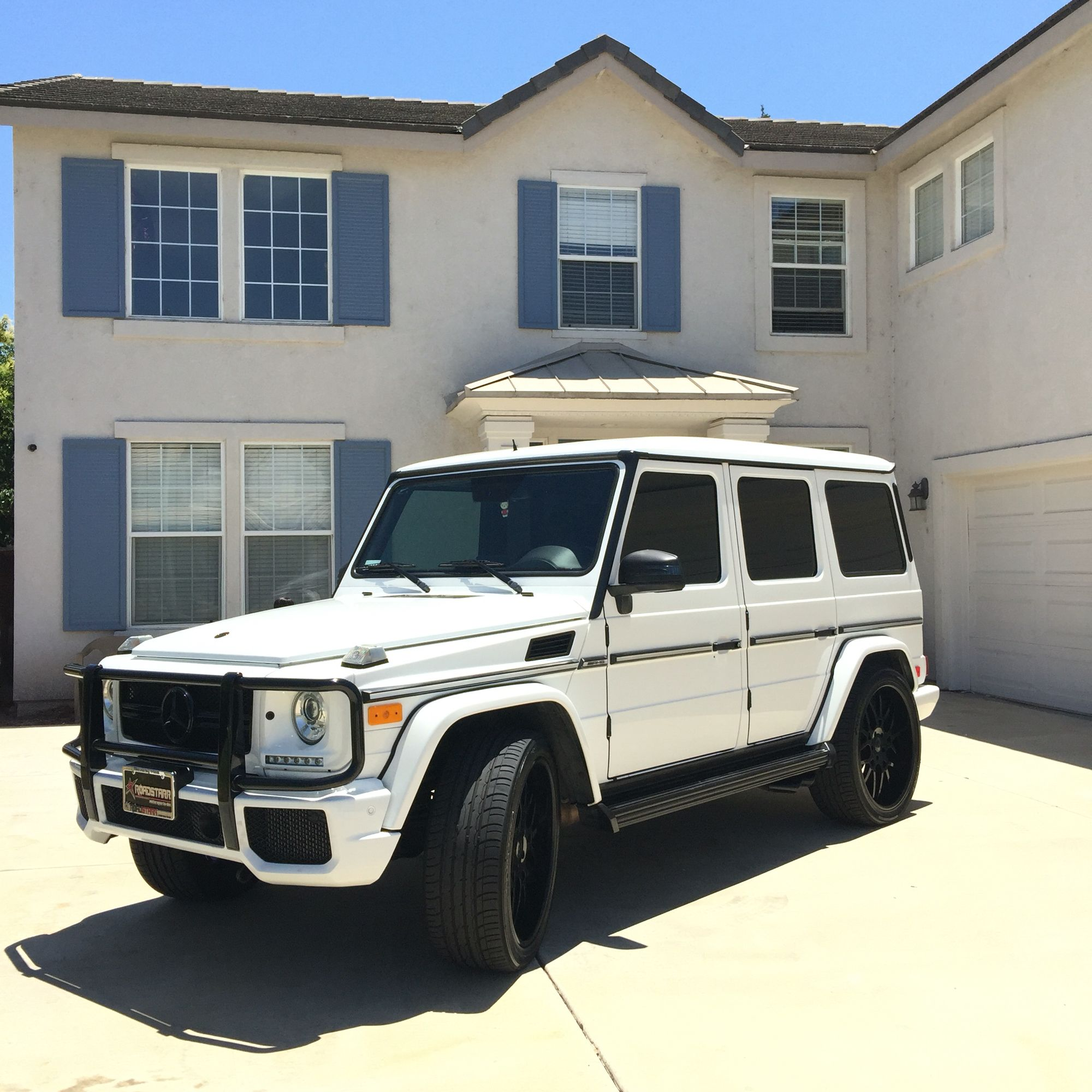 Update of my car It s back to white Mercedes G63 AMG G wagon