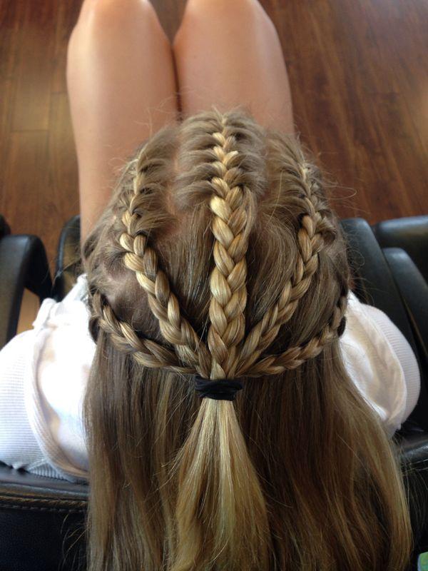 Put in a bun or ponytail   White girl braids, Hair styles ...