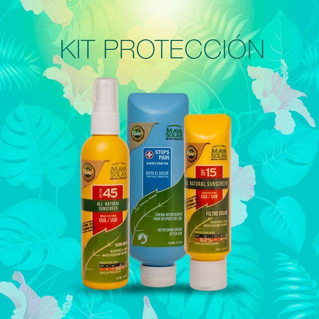 Kit Proteccion Bronceador Tonos De Piel Repelente De Insectos