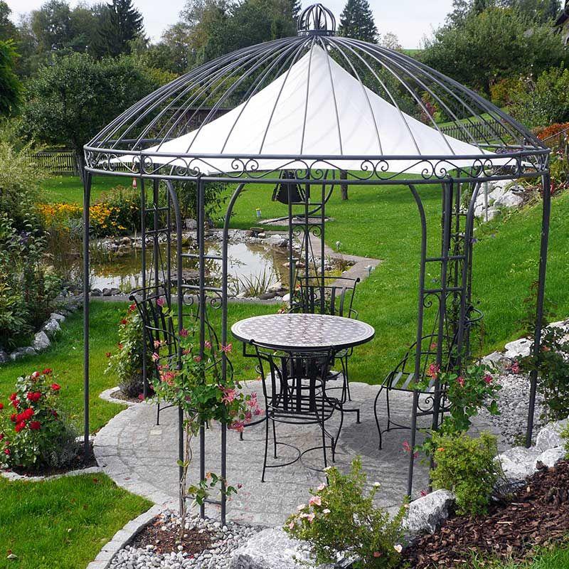 prachtvolle pavillons aus handgeschmiedetem eisen. Black Bedroom Furniture Sets. Home Design Ideas