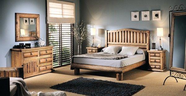 Dormitorios r sticos habitaciones pinterest for Dormitorios super modernos